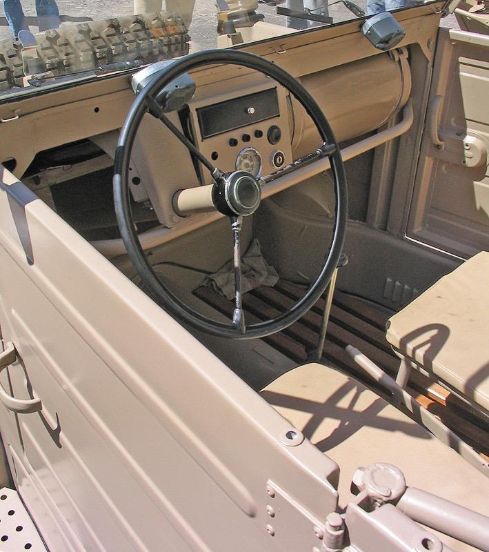 Kübelwagen Interior